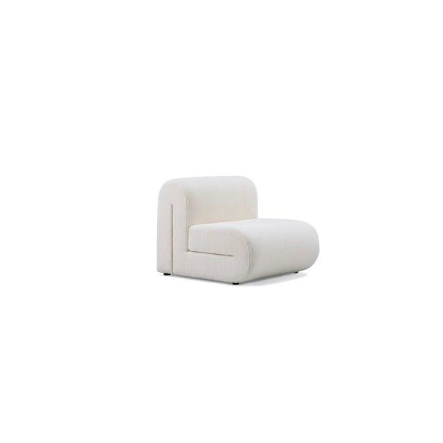 Vesta Alta Lounge Chair in White For Sale - Image 4 of 5