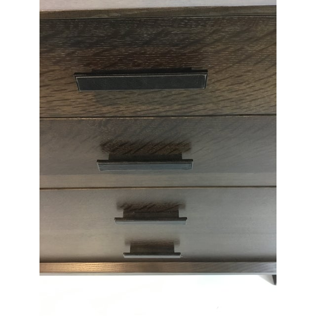 Metal Caracole Modern Artisan Walnut Finished Dresser For Sale - Image 7 of 8