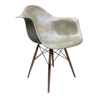 Mid Century Vintage Eames Dowel Base Zenith Chair For Sale