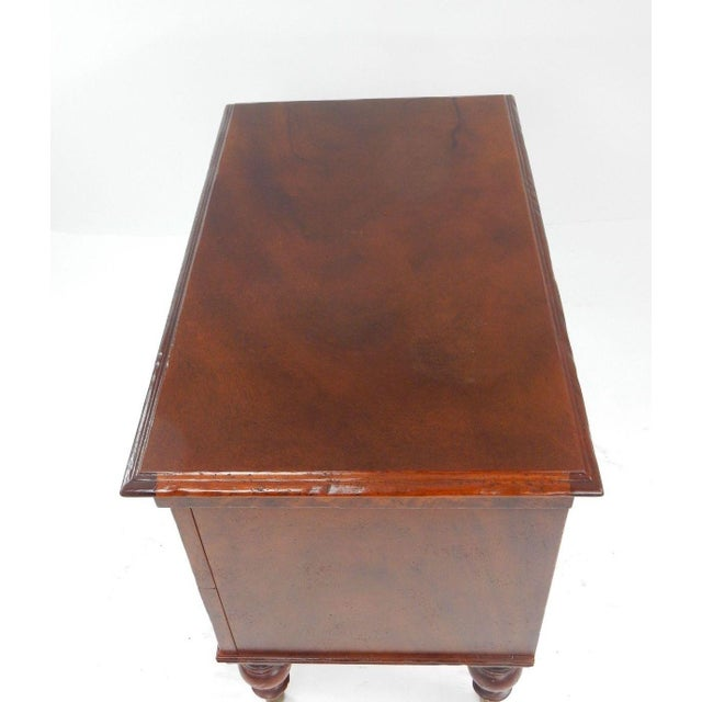 Milling Road by Baker West Indies Collection Mahogany End Table - Image 9 of 11