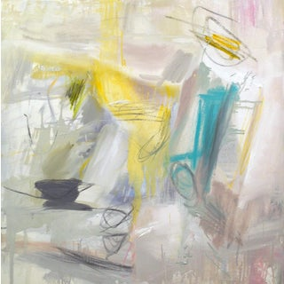 """""""Morning Coffee"""" by Trixie Pitts Abstract Expressionist Oil Painting For Sale"""