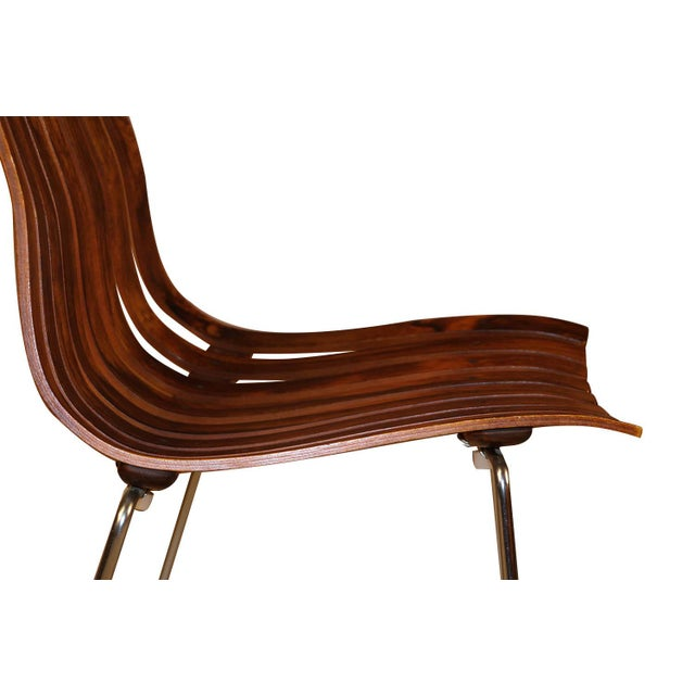 "Norwegian Modern Hans Brattrud ""Scandia"" Rosewood Dining Chairs For Sale In Baltimore - Image 6 of 11"