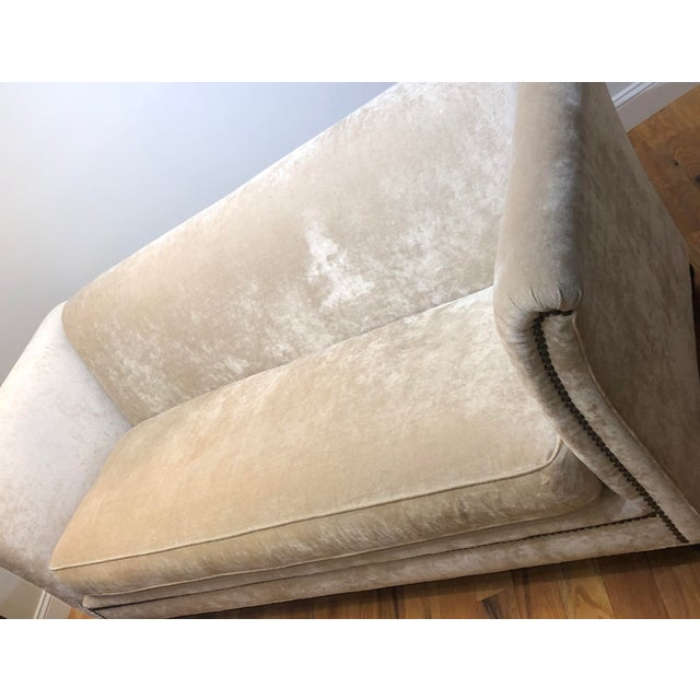 Dapha Upholstery Beige Sofa For Sale - Image 12 of 13