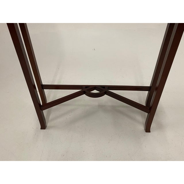 Brown Carved Mahognay Console Table For Sale - Image 8 of 12