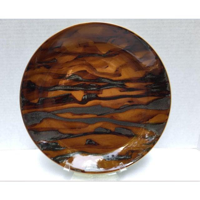 Contemporary Jaune De Chrome Dinner Plates - Set of 8 For Sale - Image 6 of 13