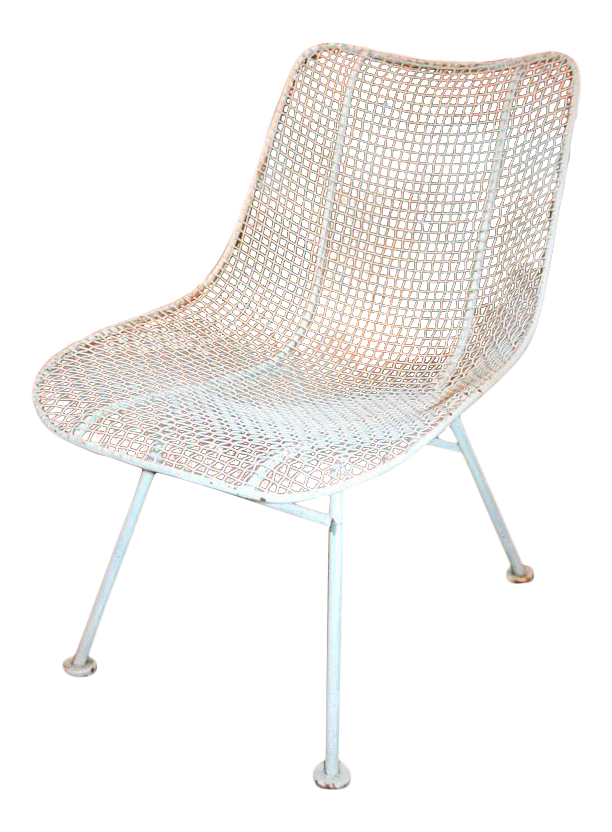 Woodard Jet Age Wire Mesh Outdoor Chairs   Set Of 24