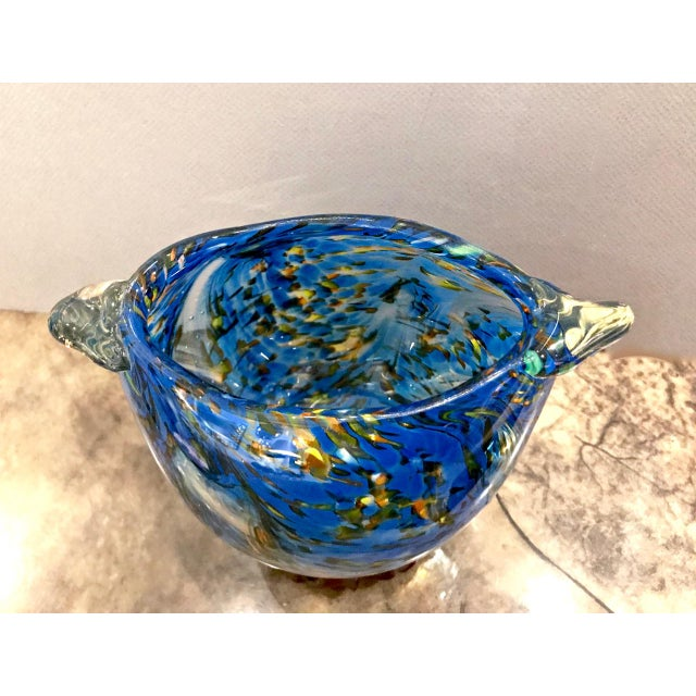 Mid-Century Murano Bowl For Sale - Image 4 of 5