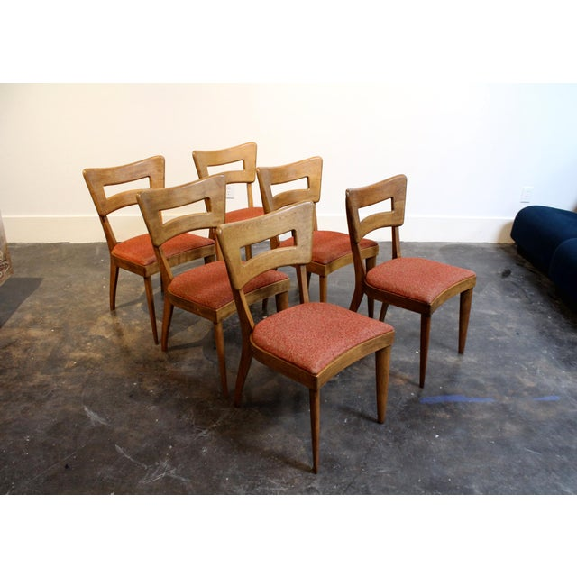 "Mid-Century Modern Heywood Wakefield ""Dog-Bone"" Dining Chairs - Set of 6 - Image 3 of 11"
