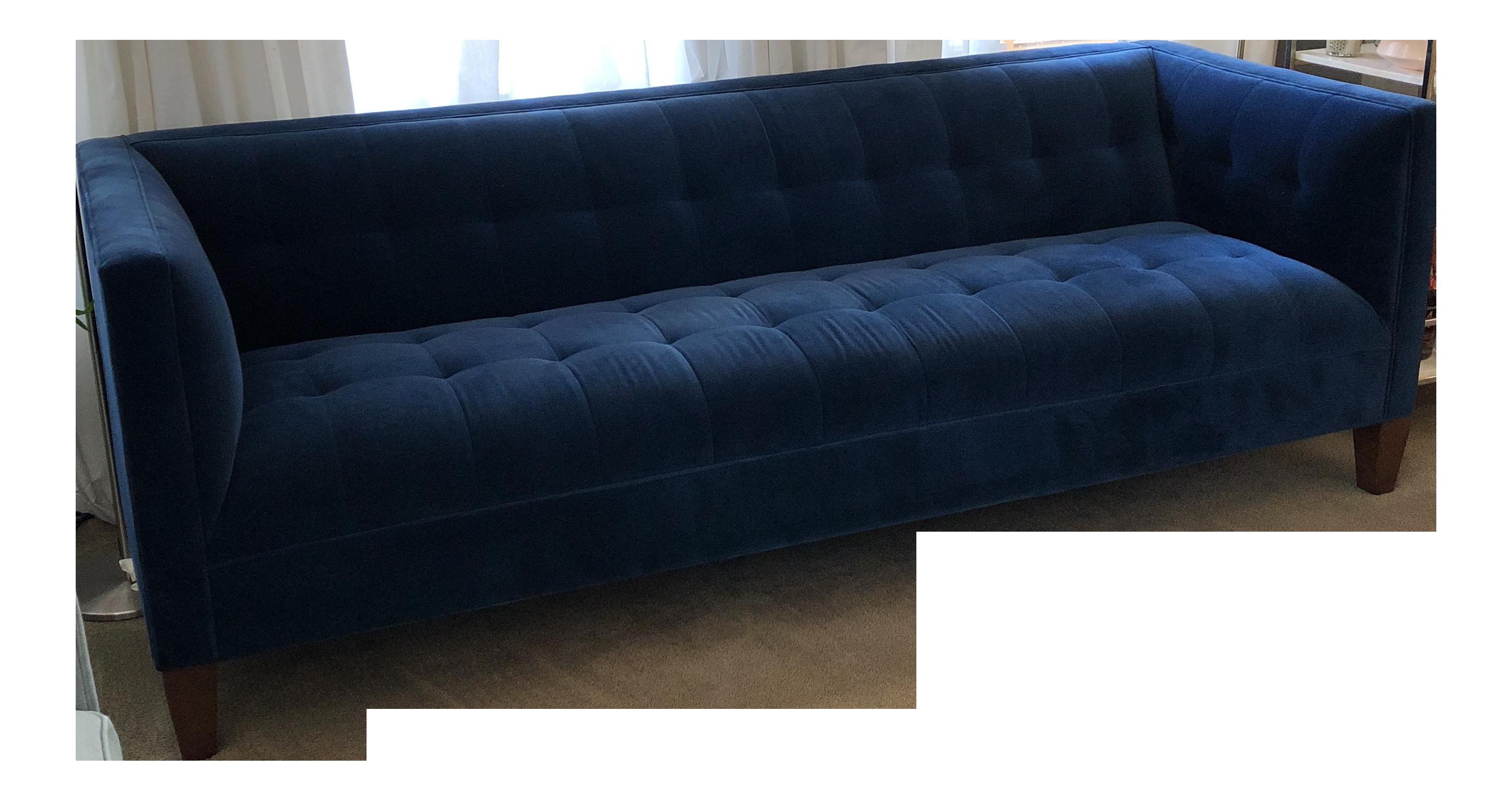 Blue Mitchell Gold Bob Williams Kennedy Sofa Chairish