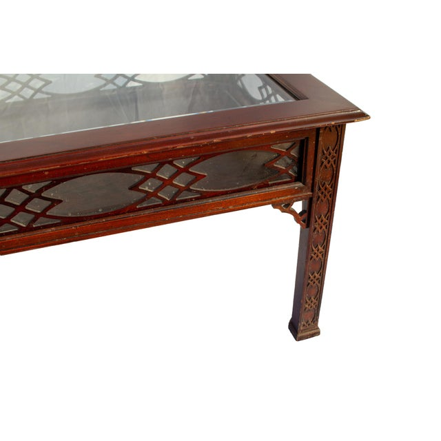 Kindel Glass Display/Shadowbox Coffee Table For Sale - Image 10 of 11