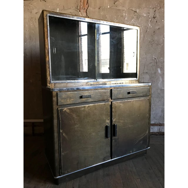 Will Wick Metal Bar Cabinet For Sale - Image 4 of 9