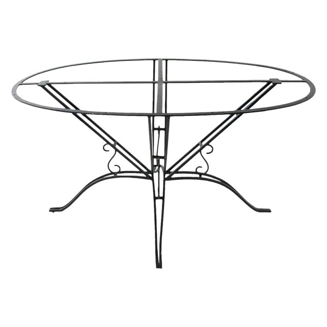 Wrought Iron Garden Table For Sale