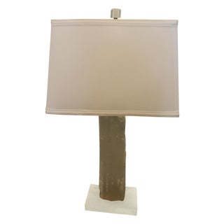 Satin Spur Table Lamp For Sale