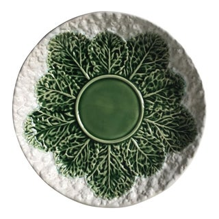 "Cabbage Leaf/Cauliflower 13""Platter-Bordallo Pinheiro"