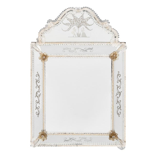 Antique Venetian Mirror For Sale - Image 10 of 10
