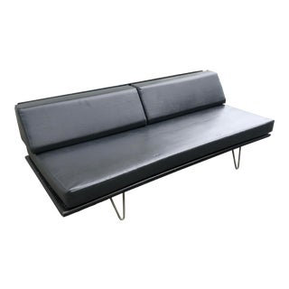 George Nelson Style Daybed on Hairpin Legs For Sale