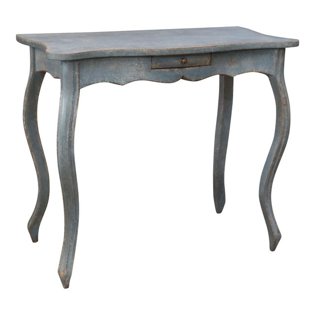 Mid 19th Century 19th Century Painted Swedish Console For Sale - Image 5 of 7