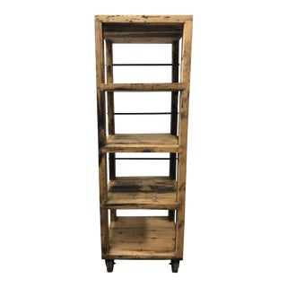Vintage Rustic Tower Shelf From Big Daddies Antiques For Sale