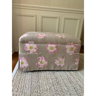 Modern Lorca Embroidered Ottoman Preview