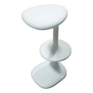 Karim Rashid Kant Stool by Casamania in White For Sale