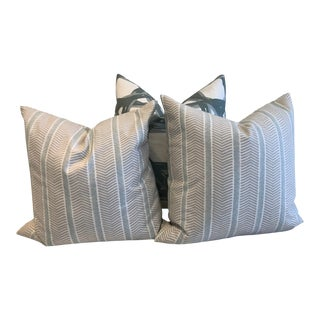Transitional Serena & Lily Pillows - Set of 3 For Sale