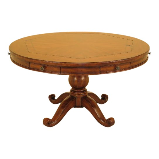 Artistica Round Card Poker Games Table For Sale