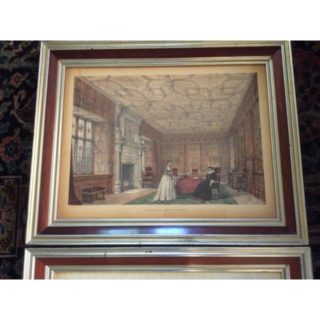 "From a gorgeous Idaho estate, this pair of original 1842 Nash lithographs are beautifully framed (""styled by Paul B...."