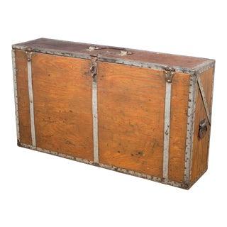 Handmade Carpenter's Toolbox C.1940 For Sale