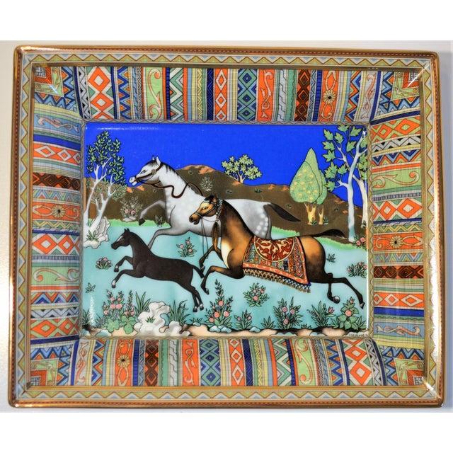 (Final Markdown) Hermès Vintage Prancing Horse Cigar Tray For Sale In Houston - Image 6 of 10