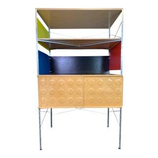 Vintage Mid Century Modern Eames Style ESU Storage Unit by Modernica For Sale