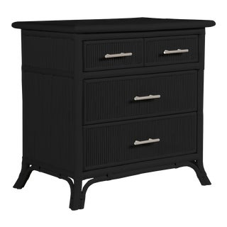 Aruba Four-Drawer Chest - Black For Sale