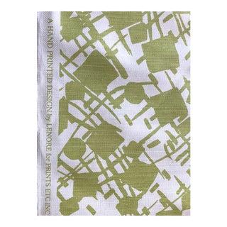 Lenore Hand Printed Fabric - 1.75 Yards