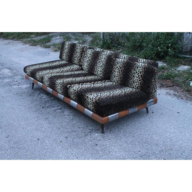 Great vintage Mid-Century Modern sofa by Adrian Pearsall for Craft Associates by Lane (Tag is present and pictured) The...