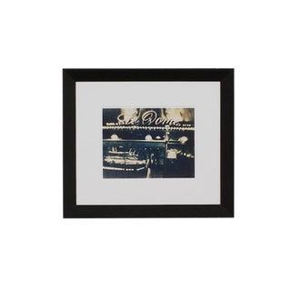 Le Dôme, Montparnasse, Paris, France Fine Art Giclee of a Cyanotype, Framed For Sale