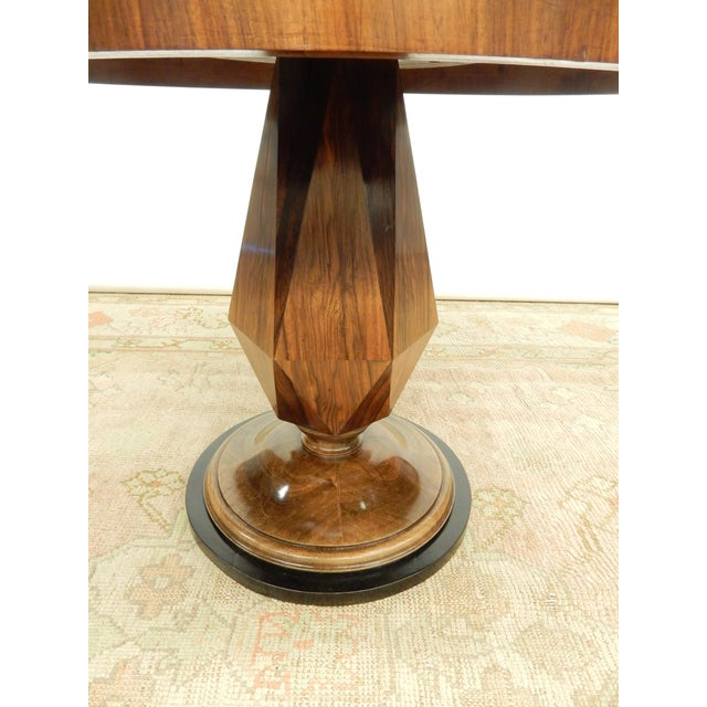 Unusual Inlaid Art Deco Table For Sale - Image 4 of 7