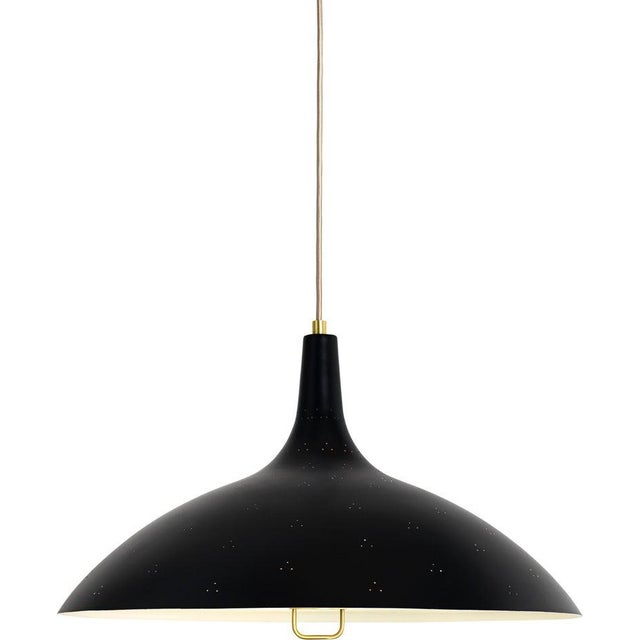 Paavo Tynell '1965' Pendant Lamp in Green For Sale In Los Angeles - Image 6 of 10