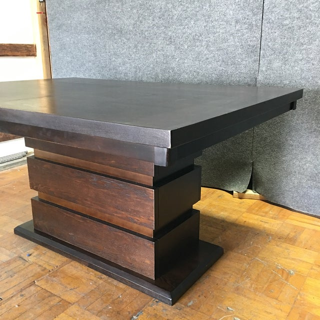 Tanager Expandable Dining Table in Espresso - Image 6 of 8