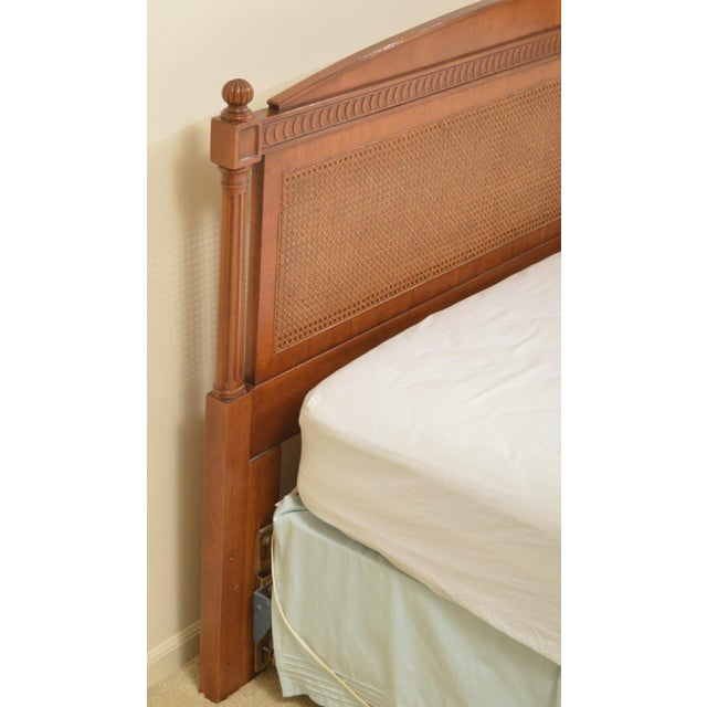 1970s Federal Style Henredon King Size Headboard For Sale In Chicago - Image 6 of 12
