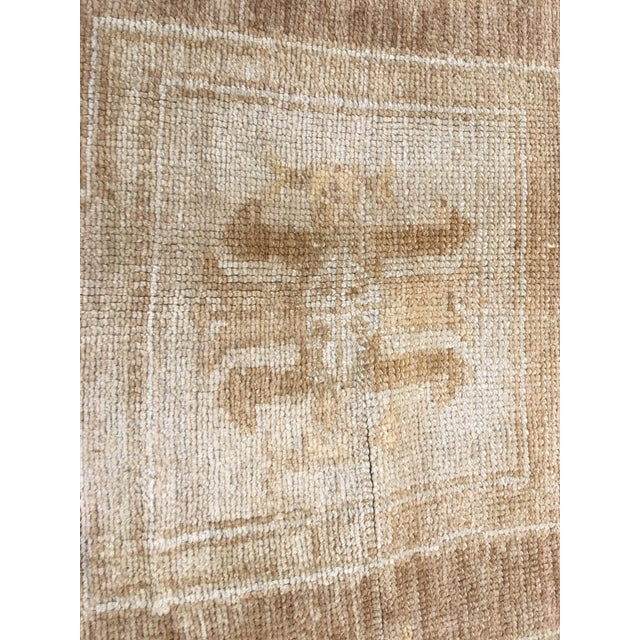 "Bellwether Rugs Vintage Turkish Oushak Rug - 6'6""x10'4"" - Image 5 of 7"