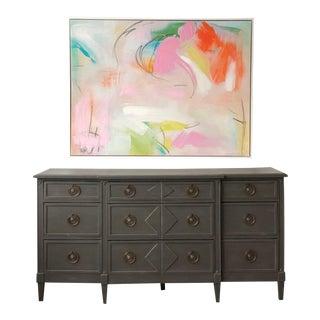 Charcoal Dresser For Sale