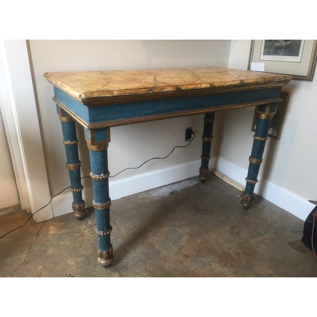 18th Century Italian Painted Table For Sale - Image 5 of 8