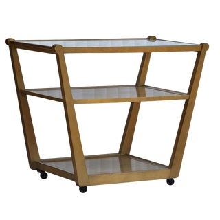 Drexel Precedent Rolling Bar Cart For Sale