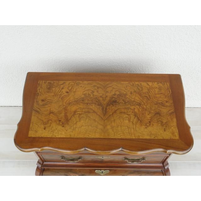 20th Century Traditional Baker Furniture Mahogany Nightstand For Sale In Tampa - Image 6 of 13