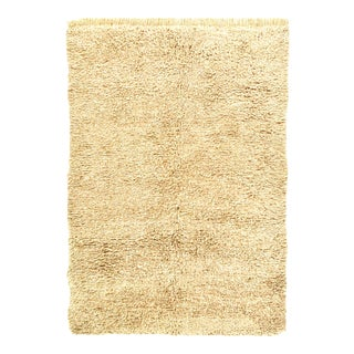 Vintage Hand Knotted Moroccon Rug For Sale