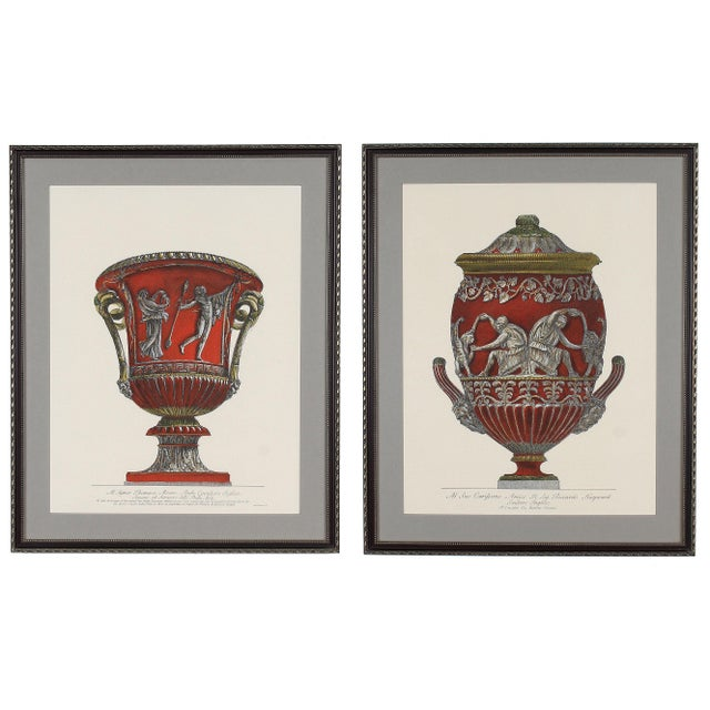Framed Italian Piranesi Prints - a Pair For Sale - Image 11 of 11