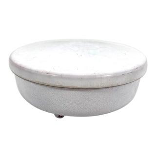 Antique Porcelain Enamel Box For Sale