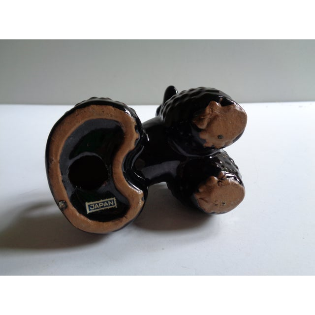 Vintage Black Poodle Dog Figurine For Sale - Image 4 of 6