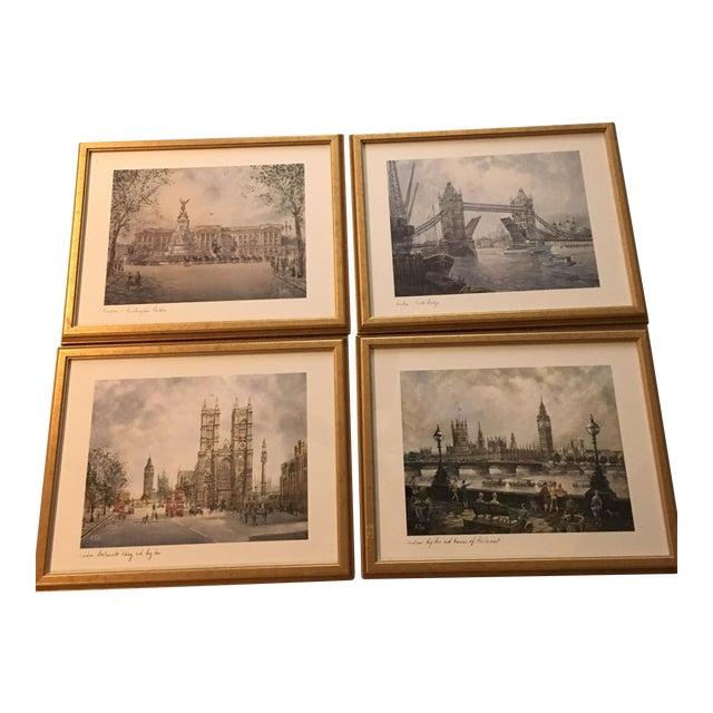 H.Moss Vintage London Prints - Set of 4 - Image 1 of 11