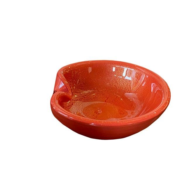 Mid Century Alfredo Barbini Bowl For Sale In Dallas - Image 6 of 9