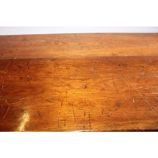 Early 20th C. Antique Store Wood Counter For Sale - Image 4 of 6